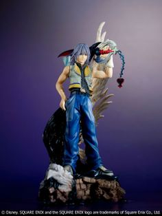 Manga Heaven - Kingdom Hearts 2: Riku Static Arts Figure 30cm