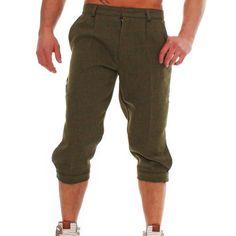 Game Hombre Tweed Plus Pantalones Cortos Bermudas 3/4 Capri Knickerbocker in Ropa, calzado y complementos, Ropa de hombre, Pantalones cortos | eBay