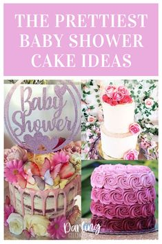 The prettiest Baby Shower cakes for girls from the most talented bakers all over the world. Get inspired with these stunning Baby Girl cakes. #babyshowercakes #girlbabyshowercakes #babyshowercakeforgirls #babyshowercakeideas #prettybabyshowercakes Baby Shower Advice, Baby Girl Shower Themes, Baby Shower Decorations, Shower Ideas, Baby Shower Fall, Baby Boy Shower, Shower Party, Baby Shower Parties, Amazing Baby Shower Cakes
