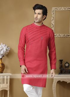 Stylish Linen Fabric Kurta #‎rajwadi‬ #menswear #mensfashion #suit #‎FeelRoyal‬ ‪#‎Menskurta#Menskurta #kurtas ‪#stylish #dapper #designer
