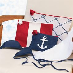 Nautical Carry Alls - Set of Three ON SALE NOW OVER HALF OFF!!!