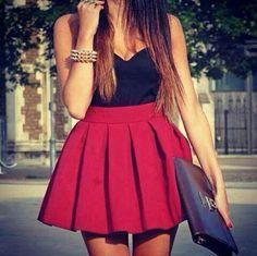 High waist skirt tumblr