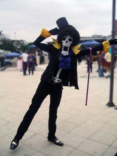 One Piece cosplay Brook