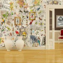 Patchwork Beige. Wallpaper!