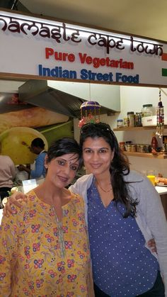 Kamini and Nima at NCT V&a Waterfront, Indian Street Food, Cape Town, Namaste, Nct, Pure Products
