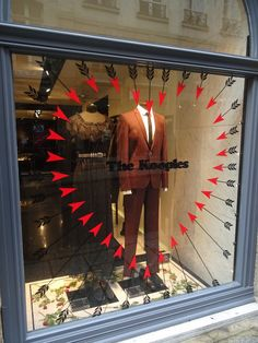 The Kooples - Vitrine Saint-Valentin #Cupidon #Retail #Window #Display