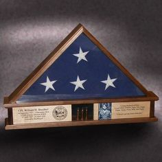 flag case for burial flag
