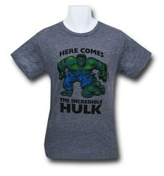Hulk Double-Sided Heather Tri-Blend T-Shirt