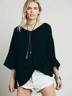 Rolled Sleeves Pocket Tunic