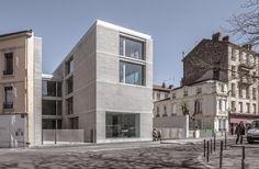 CLEMENT VERGELY ARCHITECTES - Amicale Laïque Chapelon à Saint Etienne Equerre d'argent 2014, prix culture, jeunesse & sport