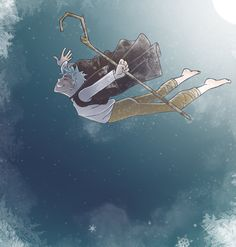 One of the things I love about Jack's character is how he can't actually fly but is carried by the wind. Quick How I Did It gif Carried Dreamworks Animation, Disney And Dreamworks, Disney Pixar, Jack Frost Drawing, Jake Frost, Guardians Of Childhood, Prince Of Egypt, Rise Of The Guardians, The Big Four