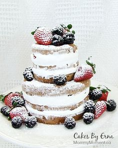 Naked Cake is a popular trend in cake decorating.