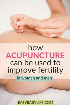 Have you tried acupuncture for fertility? Here's what science says about it. Fertility acupuncture s Acupuncture Benefits, Acupuncture Points, Baby Massage, Massage Oil, Fertility Yoga, Natural Fertility, Getting Pregnant Tips, Infertility Treatment, Fit Pregnancy