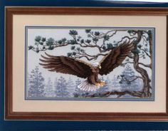 "Gallery.ru / Фото #26 - Wings""Asas"" - nandauromi Cross Stitch Bird, Cross Stitch Embroidery, Cross Stitch Patterns, Stitch 2, Nativity, Native American, Moose Art, Birds, Painting"