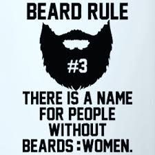 Beard Rules - Beards don't conseal identity, they create it.