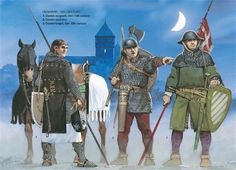 Medieval Scandinavian Armies - Danemark, 13th Century. Osprey Publishing