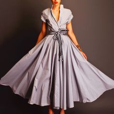 Shirtwaist dress from the 950's revisited by Stella
