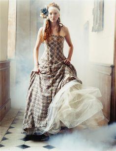 vogue, november, lili cole, lily cole, fairy tales, dresses, fashion editorials, arthur elgort, haute couture