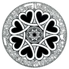 """""""I will make you brooches"""" print. Limited edition and sold with all profits going to the Maggie's Centre. Celtic Symbols, Make It Yourself, Black And White, Brooches, Centre, How To Make, Crafts, Inspiration, Design"""