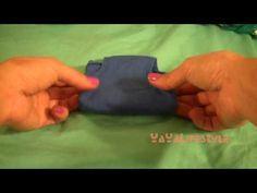 How to fold panties (rectangular pocket way)