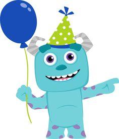 Clipart de Monster Party Bebés.