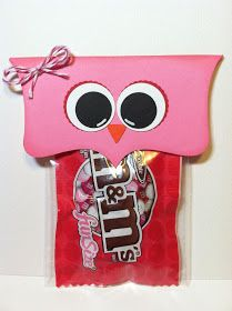 Paper Crafts by Candace: Hooo's My Valentine - M Treats