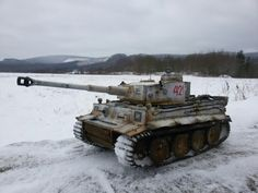 """My 1:16 scale """"Winter-Tiger"""""""