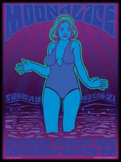 3/21/10 Moonalice poster by Wes Wilson