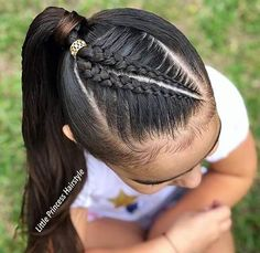 Lovely Kids Braided Hair Ideas For 2020 New Trendy Hair Ideas Lil Girl Hairstyles, Softball Hairstyles, Ethnic Hairstyles, Princess Hairstyles, Trendy Hairstyles, Braided Hairstyles, Girl Hair Dos, Natural Hair Styles, Long Hair Styles
