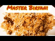 Master Biryani | One Biryani many variation | कोई भी बिरयानी आसानी से बनाऐ - YouTube Biryani Recipe, Super Easy, Veggies, Kitchen, Youtube, Recipes, Food, Vegetable Recipes, Cooking