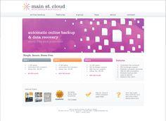 Website Design for Main St. Cloud -web design, logo design-