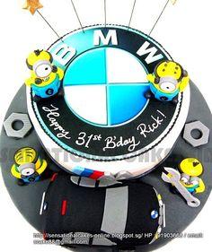 Minion BMW Cake .... Awesome