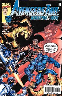 Avengers Two: Wonder Man and Beast # 2 Marvel Comics