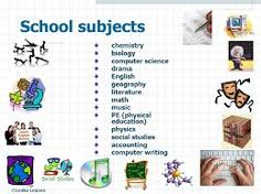 """Képtalálat a következőre: """"school subjects in english"""""""
