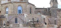Catedral de Valencia en restauración la parte exterior