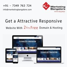 Responsive website needs expertise and we have got that right. Contact us today and give your business an amazing online presence.  Call 7349763724 or write to is at info@marketingbangalore.com Domain Hosting, Digital Marketing Services, Innovation, Technology, Writing, Website, Business, Amazing, Tech
