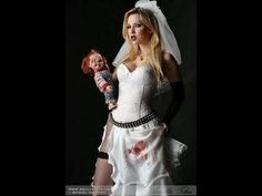 Bride Of CHUCKY Horror Movie Chucky Horror Movie, Chucky Movies, Horror Movies, Bride Of Chucky, Halloween Costumes, October, Dresses, Fashion, Horror Films