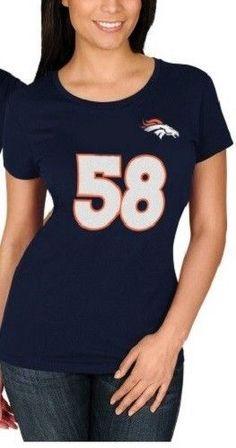 Von Miller Denver Broncos Women s Plus Size Jersey Tee - NWT - FREE  SHIPPING!   cdccae52b