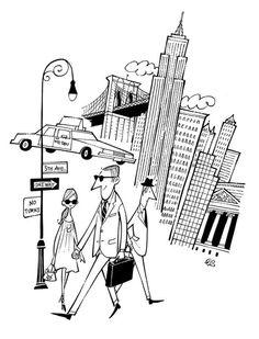 black and white Retro Illustration, Graphic Design Illustration, Human Sketch, Map Artwork, Black And White Cartoon, Doodle Inspiration, Retro Cartoons, Travel Logo, Animation Background