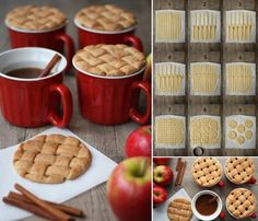Cinnamon tea with wafers , funny food and drink , Good idea Food Mashed Potato Pancakes, Great Recipes, Favorite Recipes, Mets, Biscuit Recipe, Sweet Tooth, Sweet Treats, Food And Drink, Yummy Food