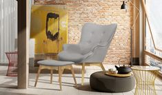 Armchair + Footstool 189£ - Free UK Delivery