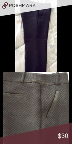 Loft black tuxedo-like capris ❌❌ New Low Price‼️ Black Capri pants with satin trim at pockets and around the waist. Really sharp looking -- great material. Took off the tags and then never wore them  LOFT Pants Capris