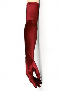 A must-have accessory with our evening gowns! Our Opera Gloves have stretch with a satin finish. Available in a beautiful array of colors. One size fits all. Approximately 23 inches long