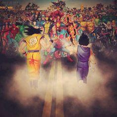 Goku vs The Marvel Heroes..