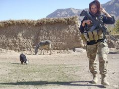 Rachel Washburn, 1st Lieutenant, U.S. Army, intelligence officer in her first deployment to Afghanistan in 2011-12.