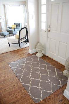 3 X 12 Fair Enoki Oyster Gray And Sepia Brown Wool Runner Area