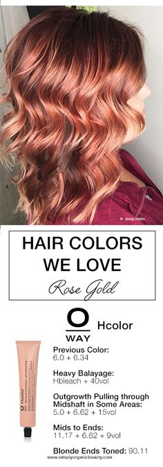 oway-color Copper Rose Gold Hair, Fall Hair Colors, Hair Colours, Hair Flip, Hair Today, Hairstyles Haircuts, Hair Studio, Hair Inspiration, Curly Hair Styles