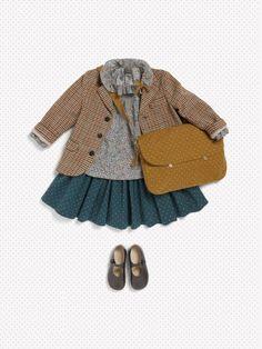 cute stylish little girl fall outfit // kids fashion Fashion Kids, Little Girl Fashion, Toddler Fashion, Look Fashion, Latest Fashion, Fashion 2015, Lolita Fashion, Fashion Clothes, Fashion Outfits