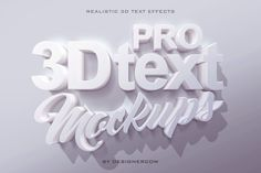 Love text effects and text design? We've scoured the site to bring you one massive list of the 100 most awesome text effects we have to offer. Learn your favorite Photoshop tips and tricks from the. Photoshop Tutorial, Cool Photoshop, Photoshop Actions, Photoshop Design, Typography Tutorial, 3d Text Effect, Photoshop Text Effects, Free Text, Photoshop For Photographers