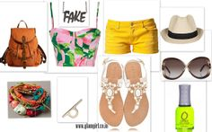 http://www.glamgirl.co.in/weekend-look-on-the-beach/ #summers #croptop #florals #pastel #shorts #beach